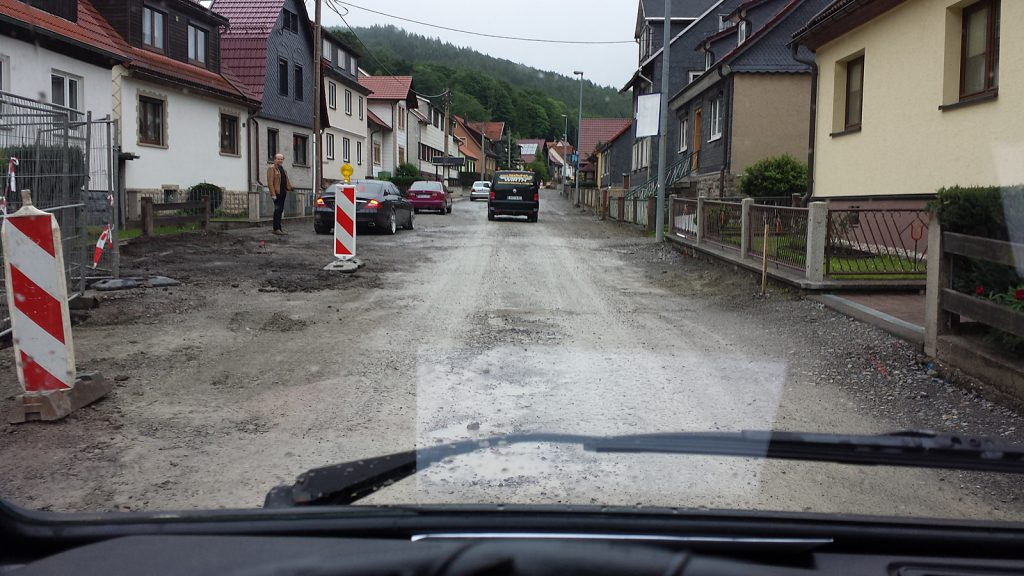 Die schlechteste Landstraße Thüringens