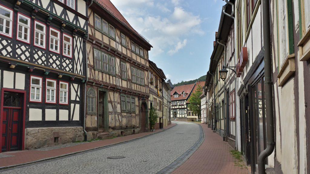 Stolberg Harz 2014 keine Verkehrszeichen