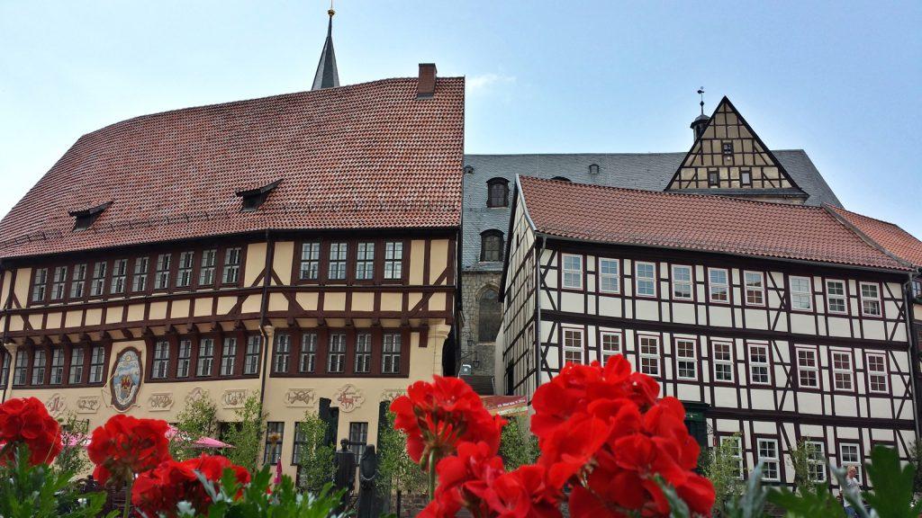 Rathaus Kirche Stolberg Harz 2014