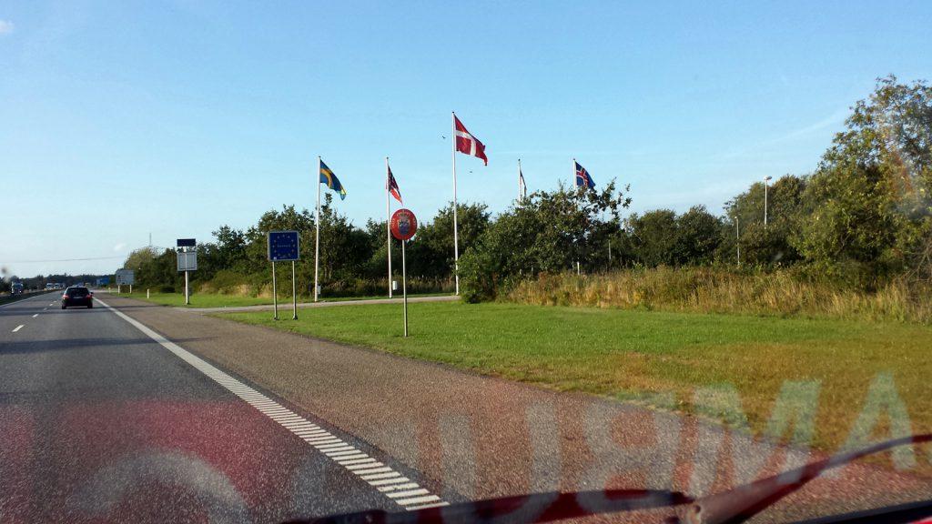 Grenze Deutschland - Dänemark, A7