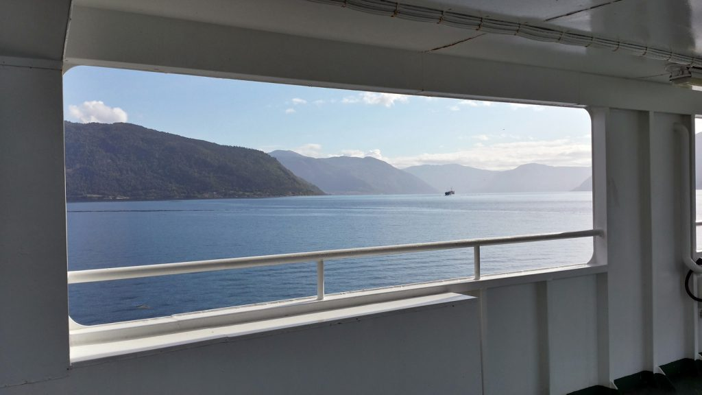 Auf dem Sognefjord