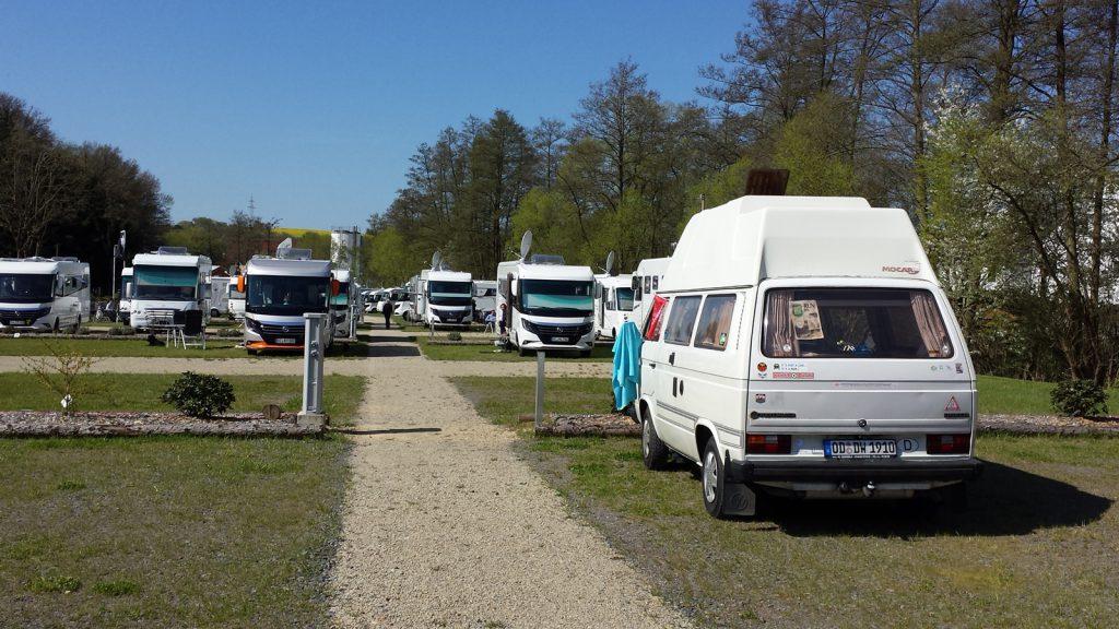 Wohnmobil Stellplatz Neukirchen am Knüll
