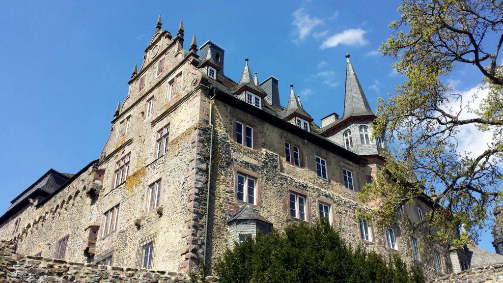 Schloss Eisenbach, die Wartburg Hessens