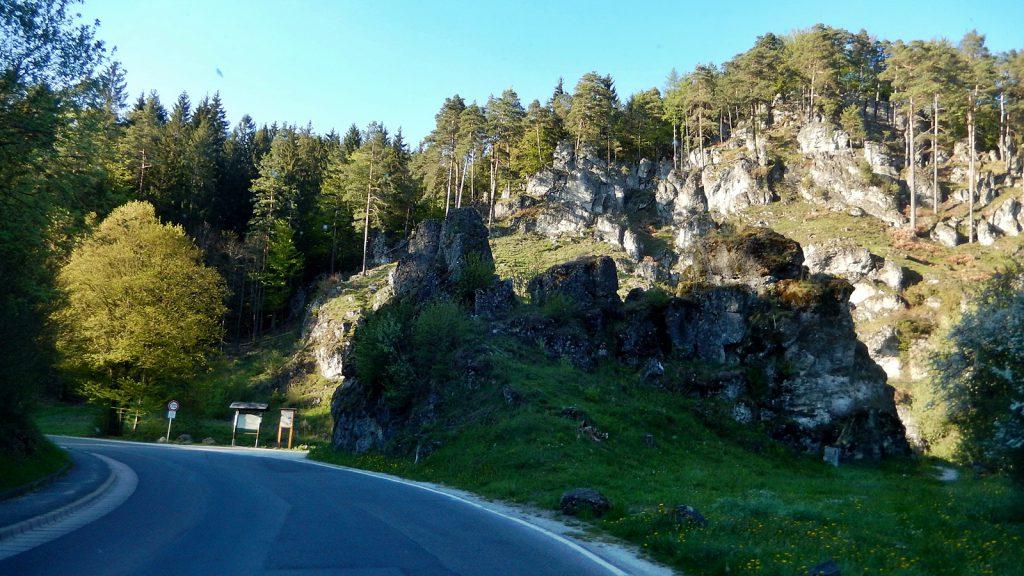 Felsformation Fränkische Schweiz