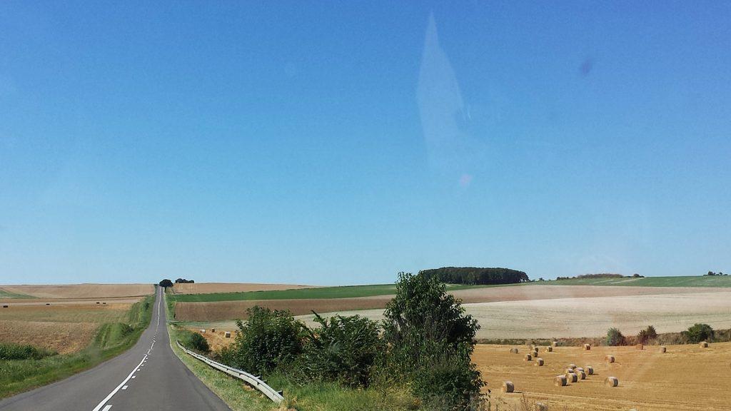 Trostlose Weite: Frankreich