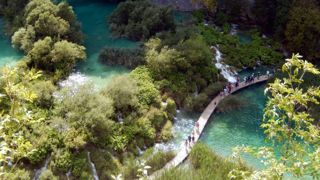 Luftbild Plitvicer Seen