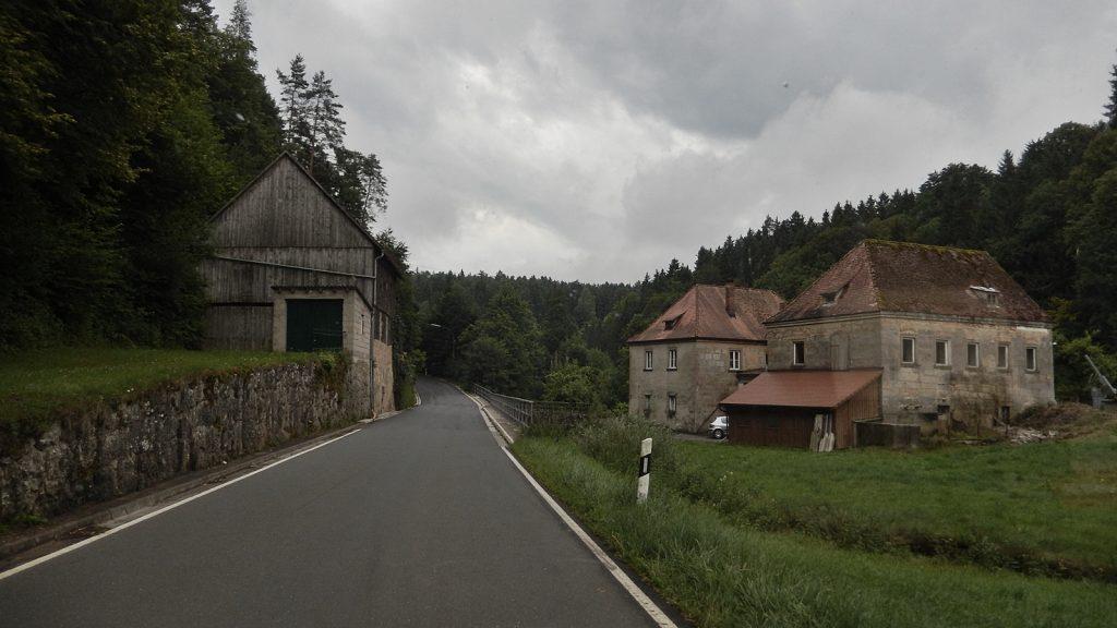 Trübes Wetter in der Fränkischen Schweiz