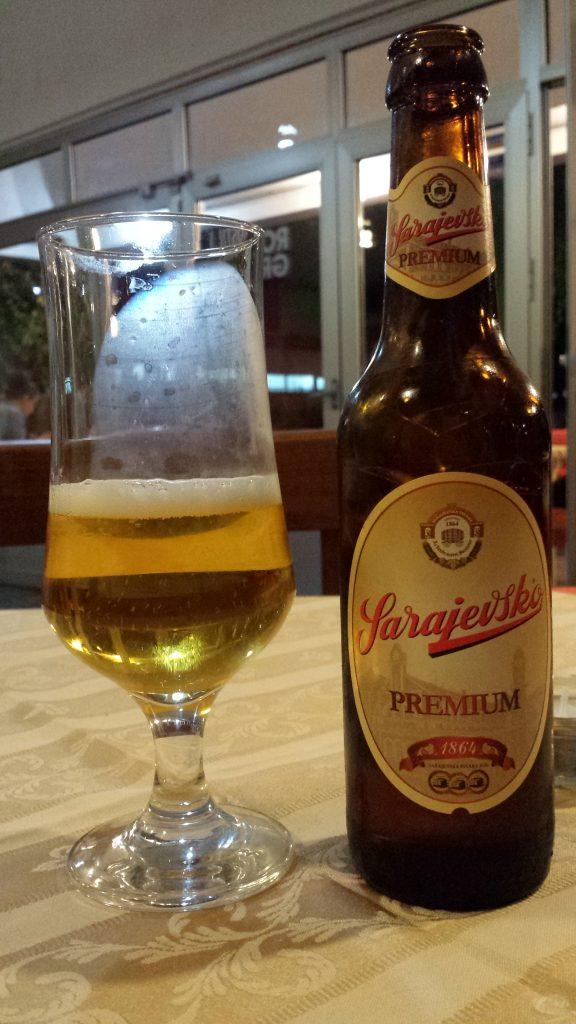 Kann man durchaus trinken: Sarajevsko Premium Pils