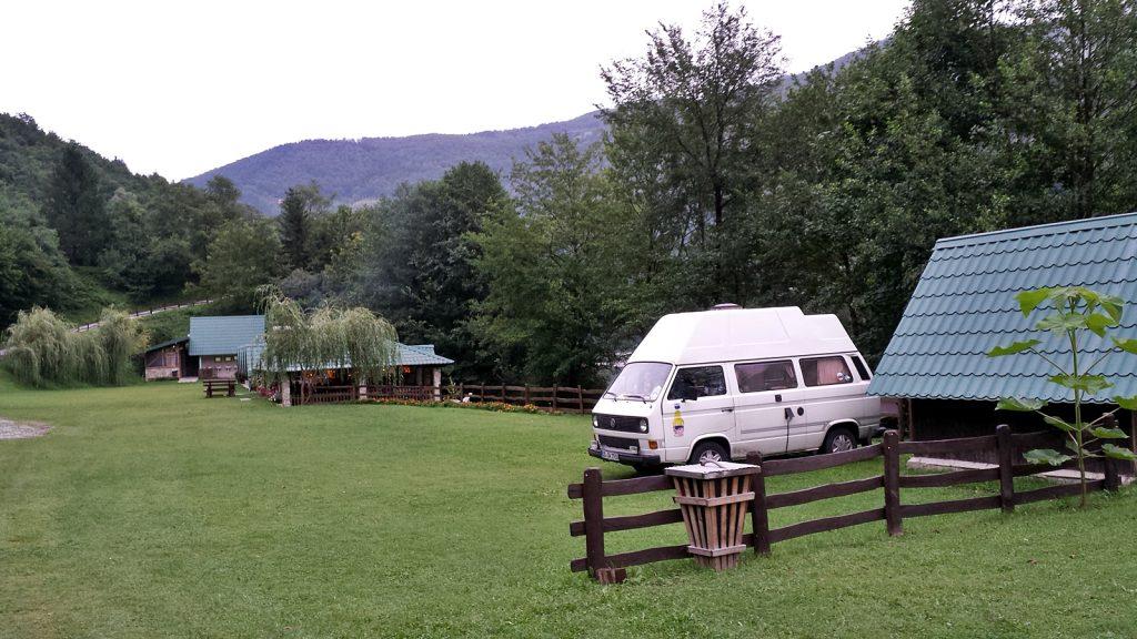 Autocamp Drina, Foca