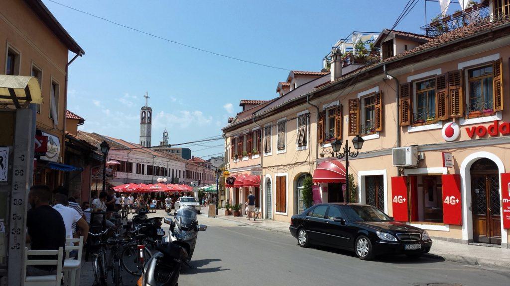 Altstadt Shkodra katholische Kirche Shkoder Albanien