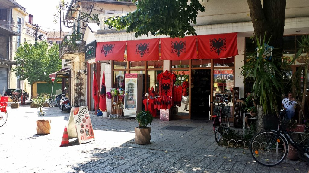 Flagge Albanien