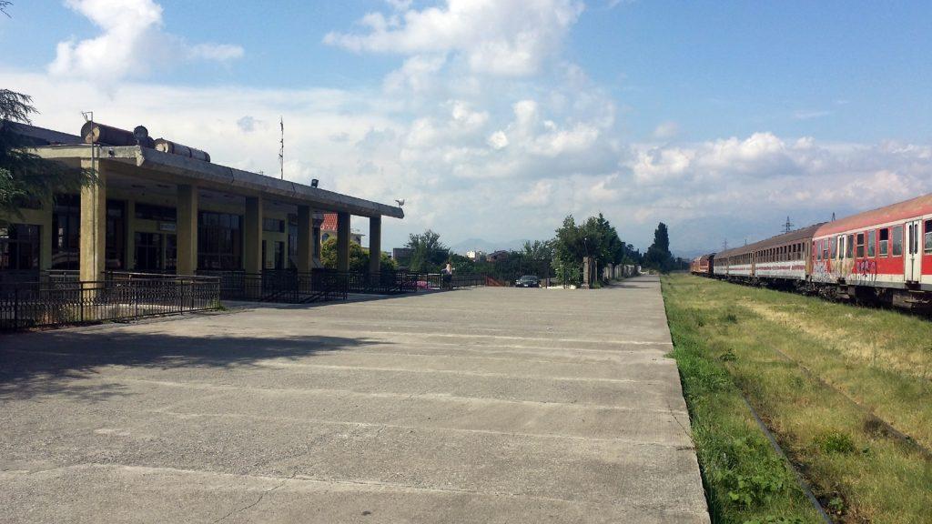 Bahnhof von Shkoder Albanien