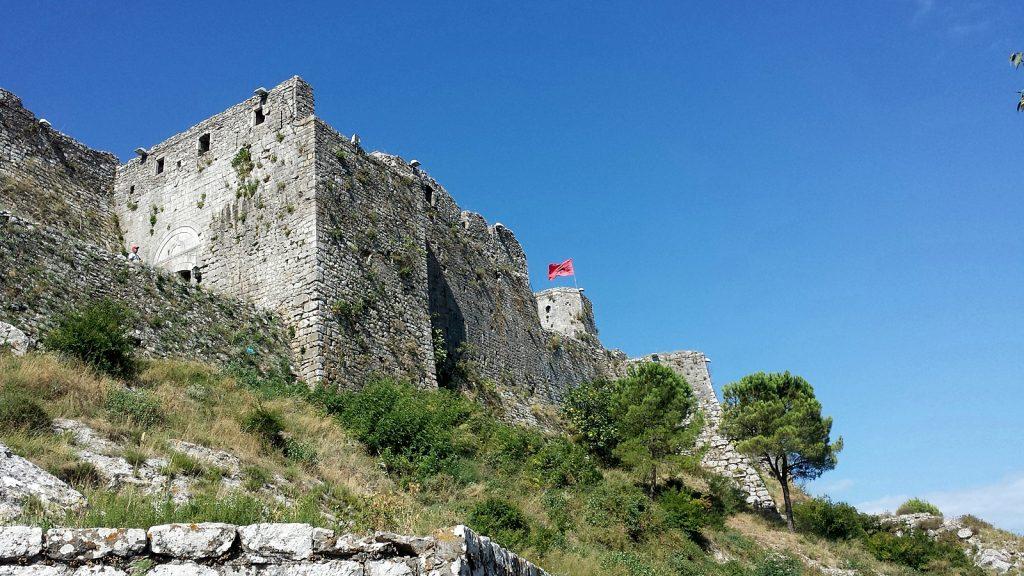 Burg Rozafa Castle Shkoder Albanien