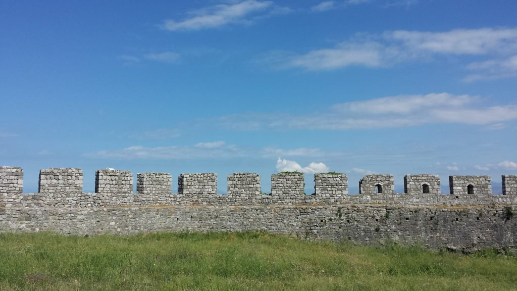 Burgmauer Burg Rozafa Shkoder