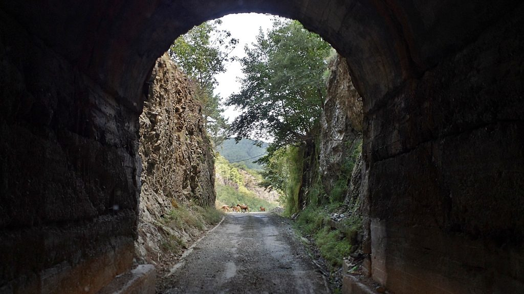 Tunnel Albanien, Roadtrip Sommer 2016