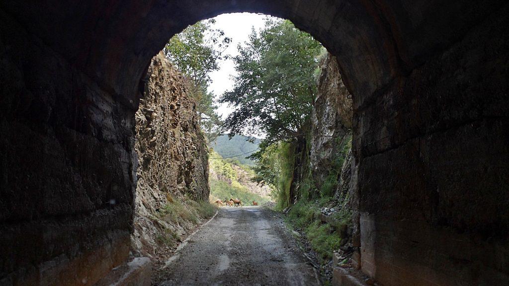 Tunnel Albanien, Roadtrip Sommer 2016