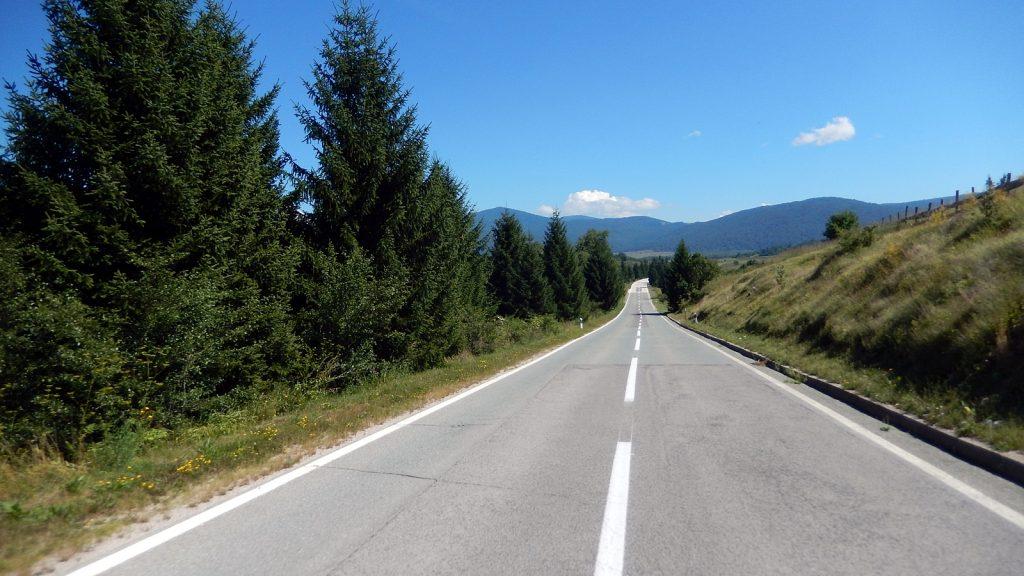 Landstraße Kroatien Hinterland Kanada