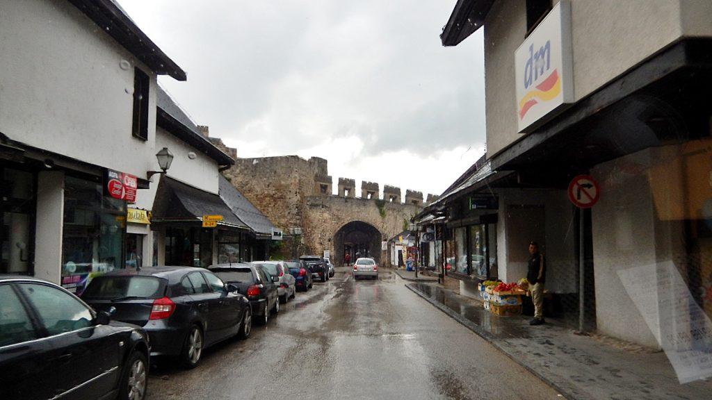 Kein Parkplatz in Jajce