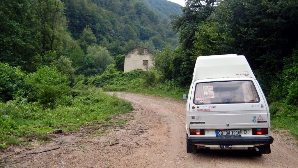 Kriegsruine Bosnien Srpska