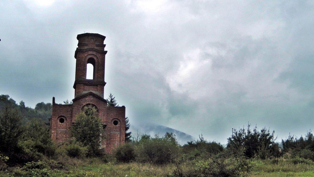Bosnienkrieg Ruine Kirche Jablan