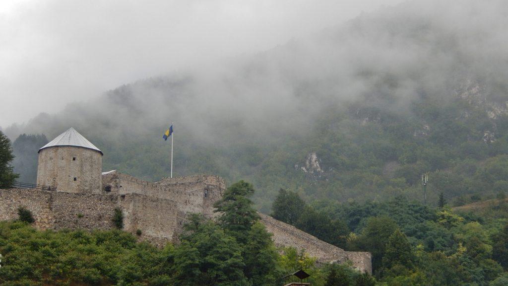 Burg Festung Anlage Travnik