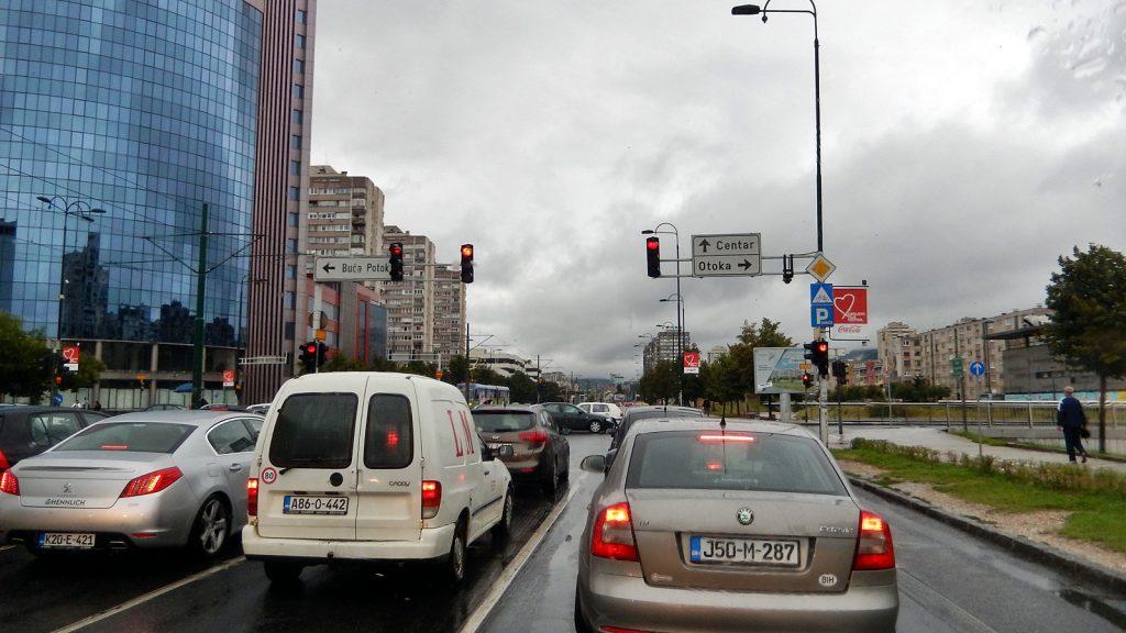 Haupteinfallstraße Sarajevo
