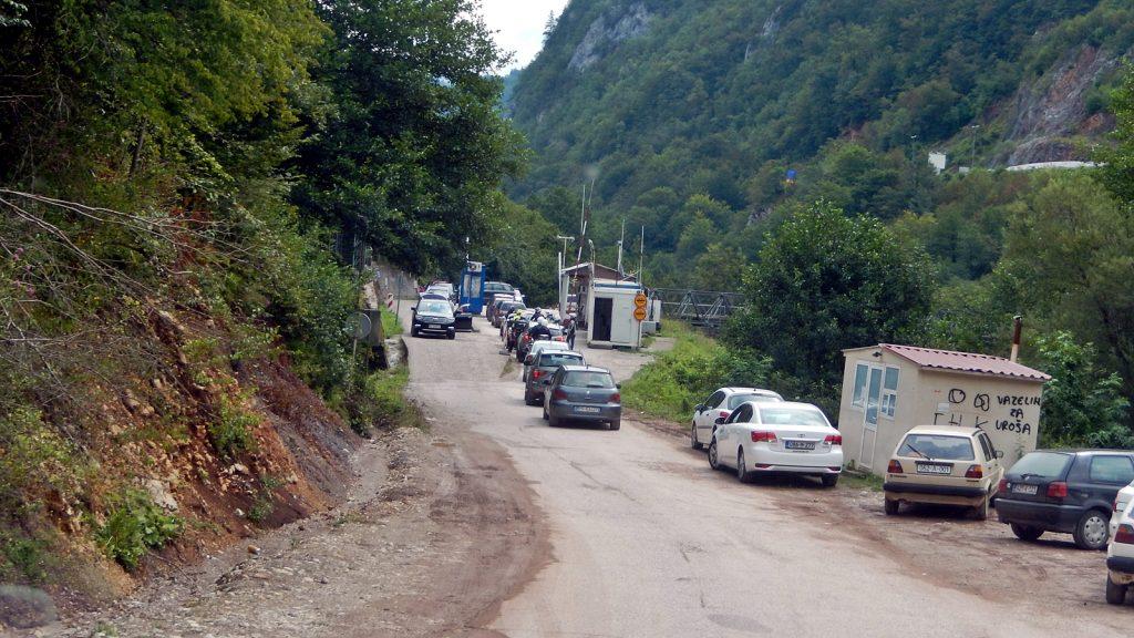 Grenzübergang Bosnien Montenegro