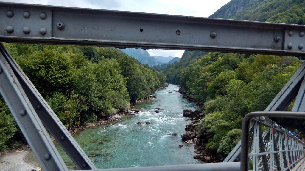 Grenzbrücke Montenegro Bosnien