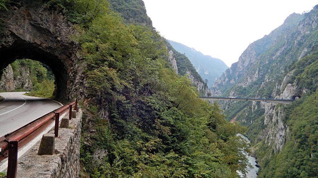 Brücke über die Piva Montenegro Traumstraße