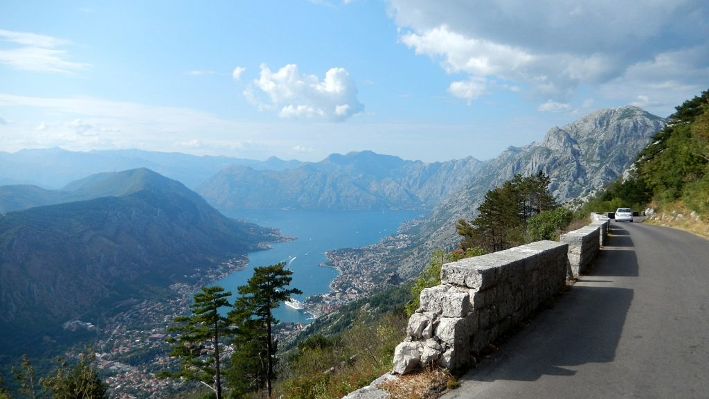 Straße nach Kotor Traumstraße Europas
