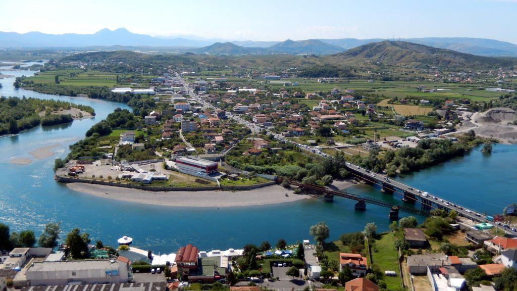 Drin Shkodra Shkoder Albanien