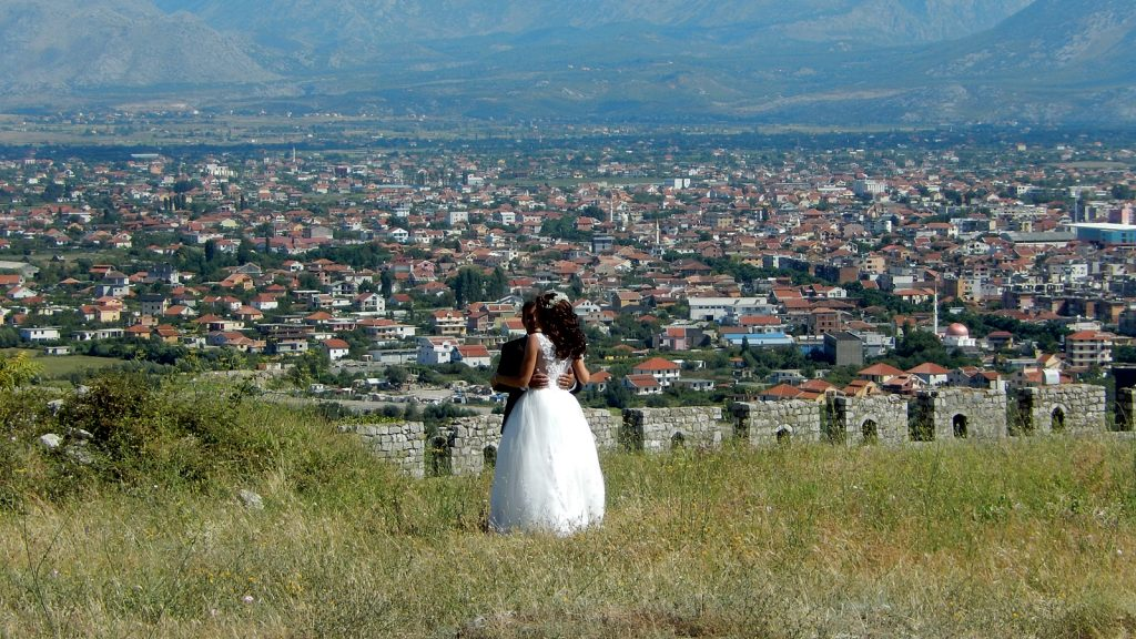 Hochzeit Shkoder Rozafa Albanien
