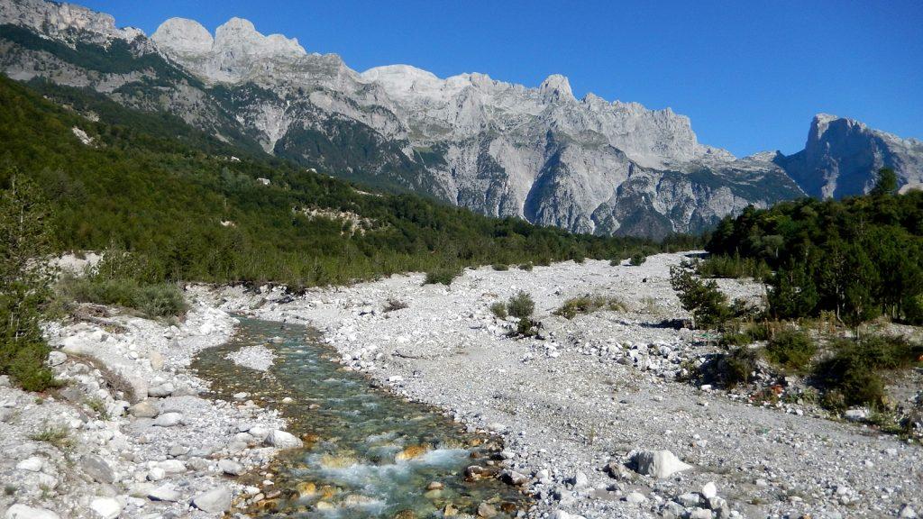 Albanische Alpen, Shala-Fluss, Theth