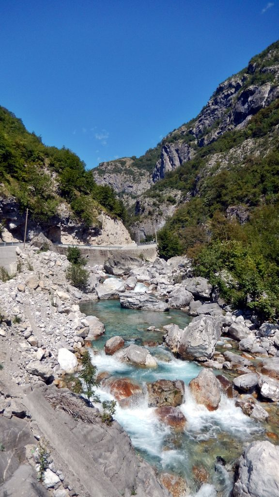 Valbona-Fluss, Albanien, 2016 Roadtrip
