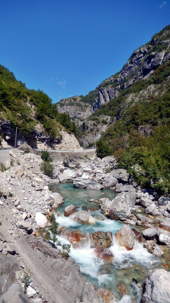 Valbona-Fluss, Albanien, 2016 Roadtrip