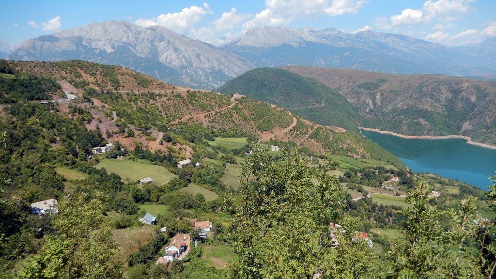 Albanisches Hinterland, Fierze-Stausee