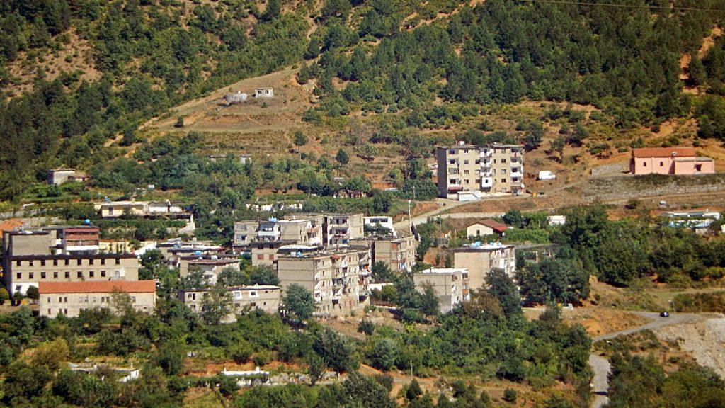 Bergbaustadt Reps, Albanien