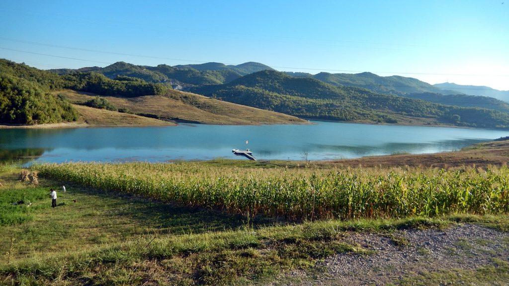 """Blick vom Campingplatz """"Camping Tirana"""""""