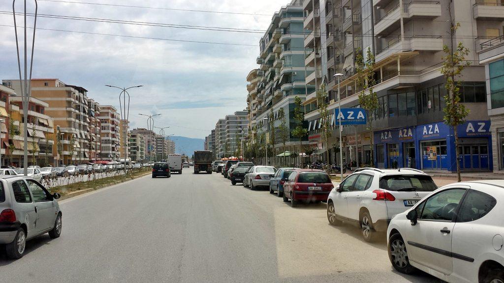 Vlora, Albanien