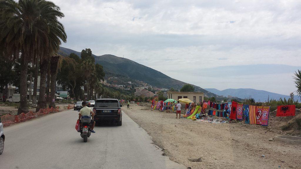 Aufblasbare Dinge und anderes Gedöns, Albanien, Vlora