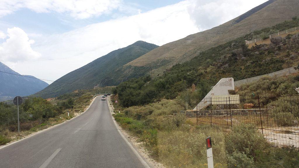 Nordrampe Llogara-Pass, Albanien Roadtrip