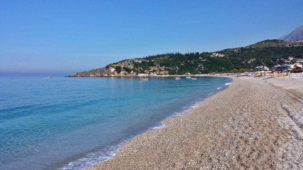Livadh Strand, Albanien, Himare