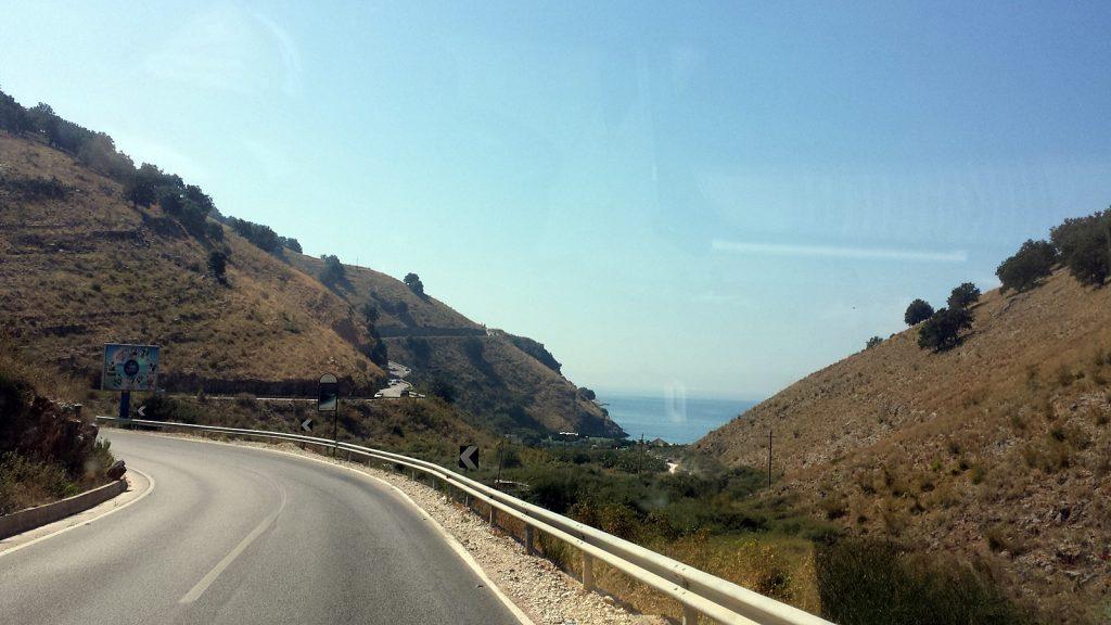 Küstenstraße SH-8, Albanien