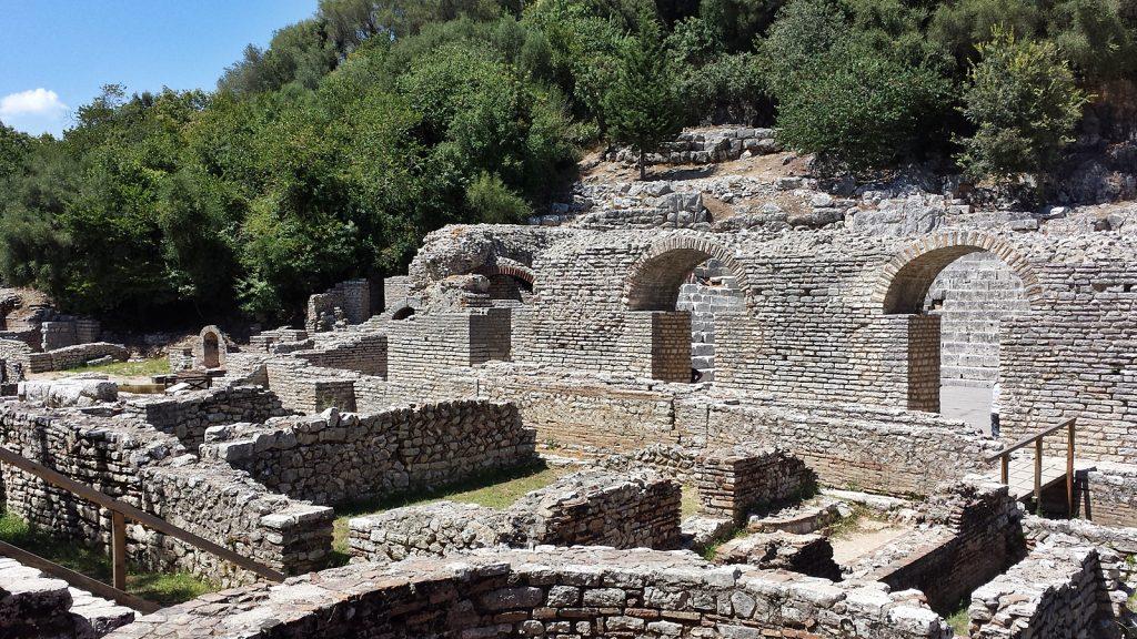 Antike Susgrabungsstätte Butrint