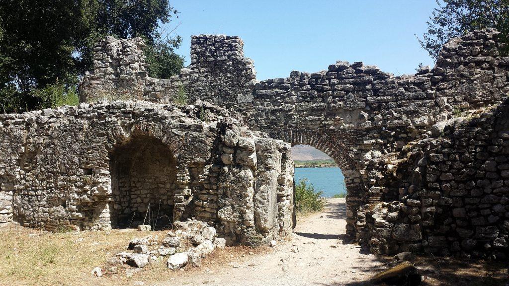 Vivar-Kanal, Butrint, Albanien