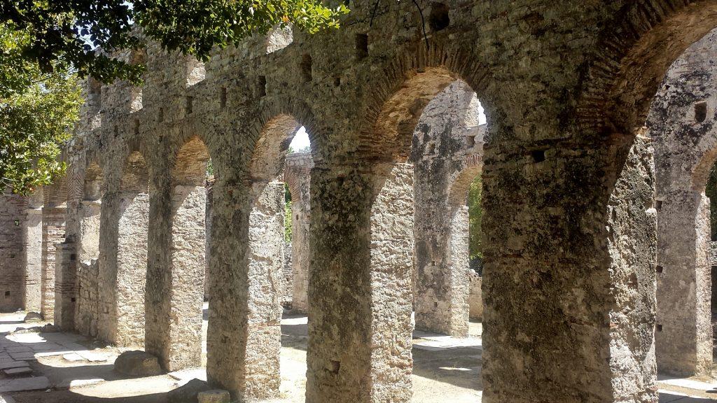 Die große Basilika, Butrint