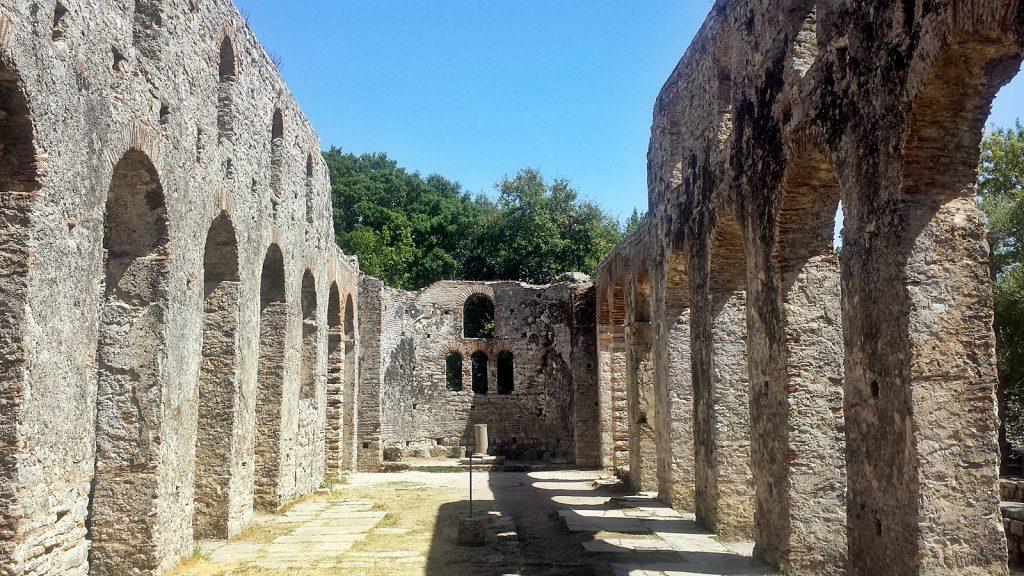 Basilika Kirchenschiff Butrint