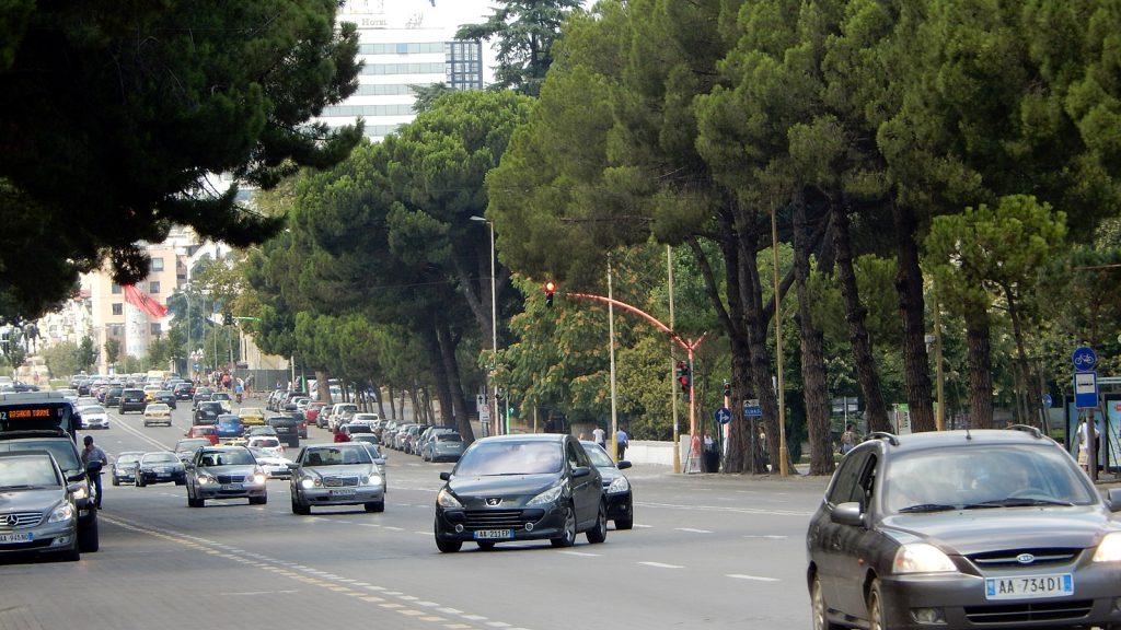Bulevardi Dëshmorët e Kombit, Tirana, Albanien