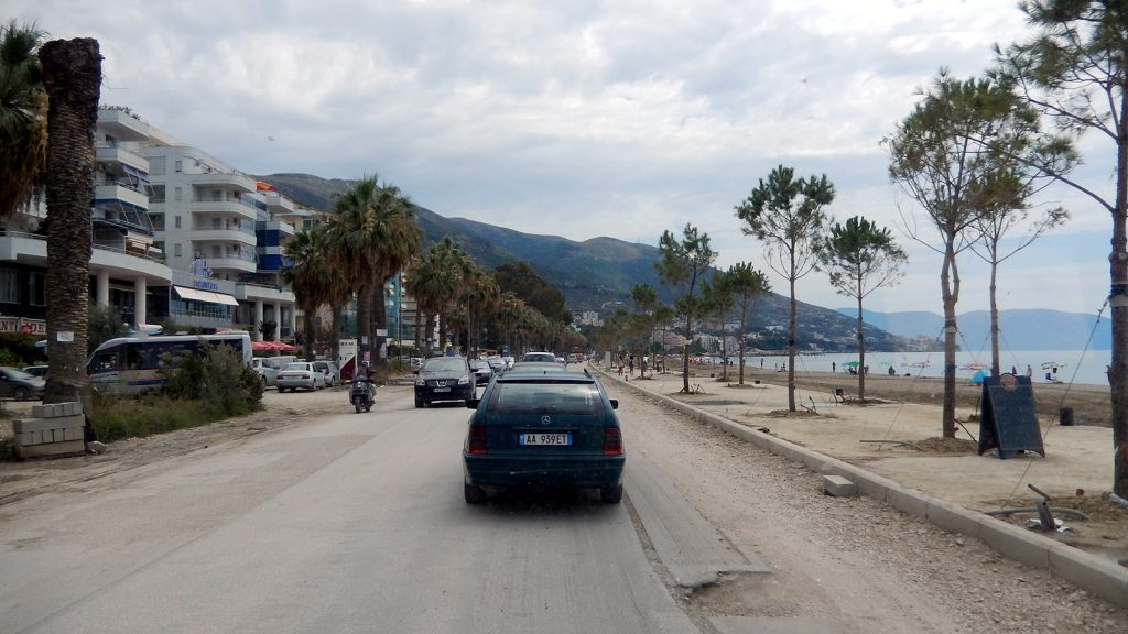 Strand Vlore Albanien