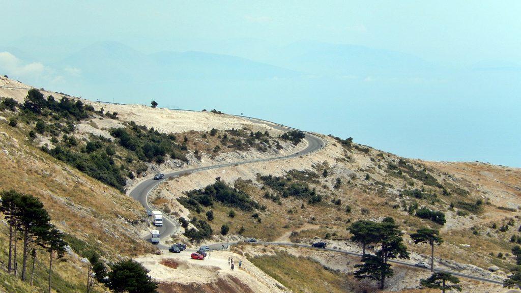 Südrampe Llogara-Pass